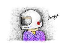 Helmet drawing by coconut