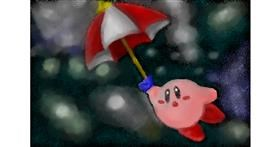 Drawing of Umbrella by VinnievanG