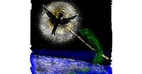 Angel drawing by Dettale