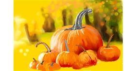 Drawing of Pumpkin by Bibattole