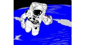 Astronaut drawing by me