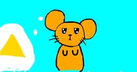 Drawing of Mouse by Frisk