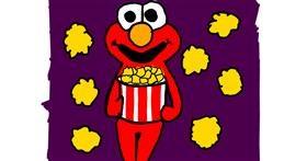 Drawing of Popcorn by MaRi