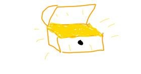 Treasure chest drawing by Crimson Ecstasy