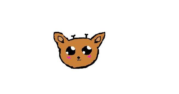 Deer drawing by Zoro