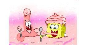 Spongebob drawing by OLGI 🌺