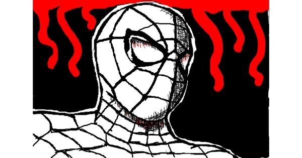 Spiderman drawing by Sketchy Neighbor