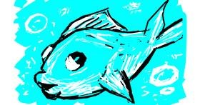 Fish drawing by Derp
