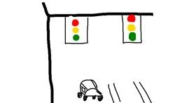Traffic light drawing by NevaeHeaveN