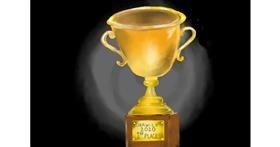 Drawing of Trophy by Randar