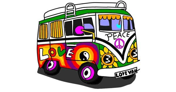 Van drawing by Holy Kirbo