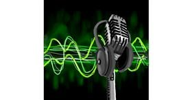 Drawing of Microphone by Joze