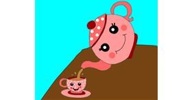 Teapot drawing by Zerous 👩🎤