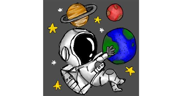 Planet drawing by Luna lovegood