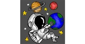 Planet drawing by (luna lovegood)