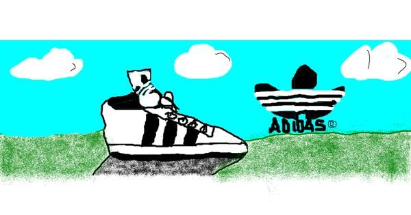 Shoe drawing by LoriaDaBest