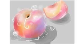 Drawing of Peach by 𝐓𝐎𝐏𝑅𝑂𝐴𝐶𝐻™
