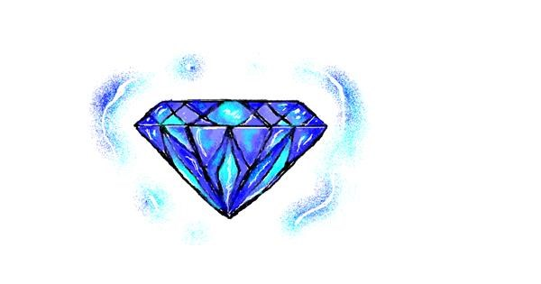 Diamond drawing by hahah