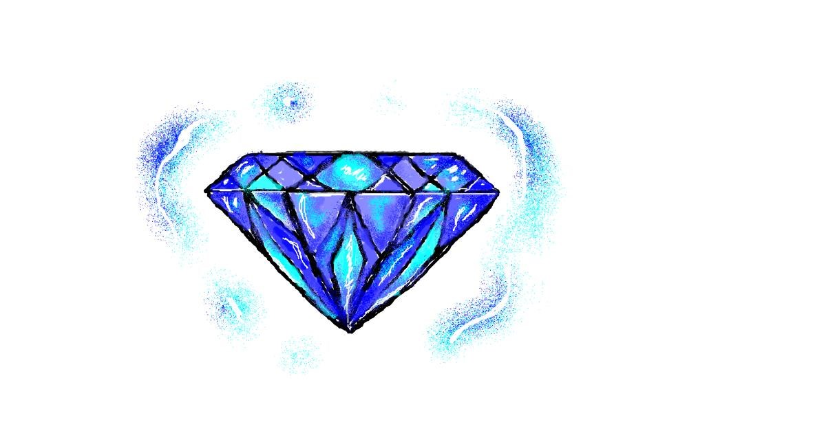 Drawing of Diamond by hahah