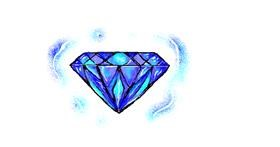 Diamond drawing by hahah