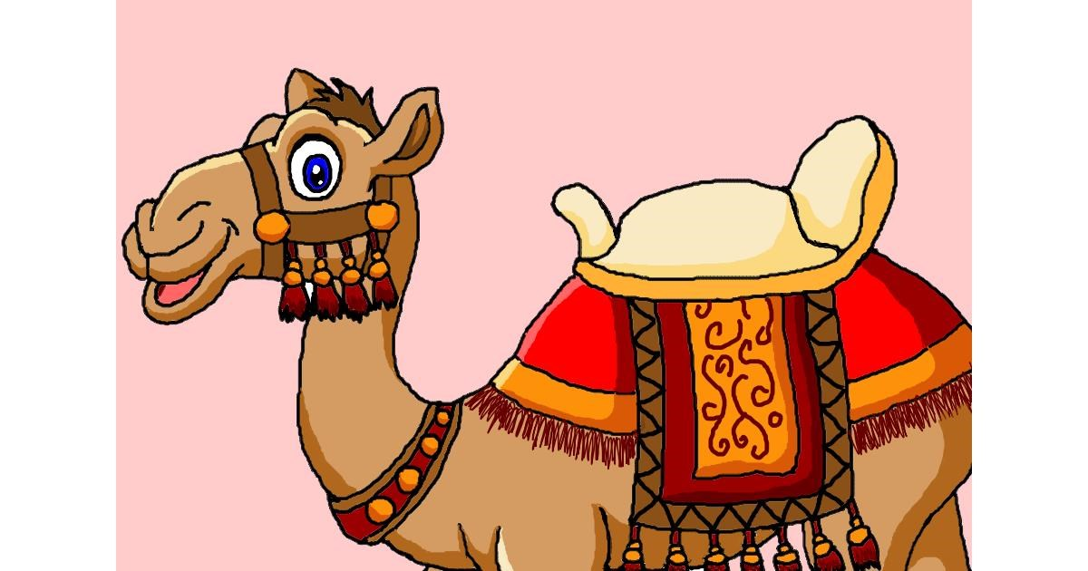 Drawing of Camel by InessaC
