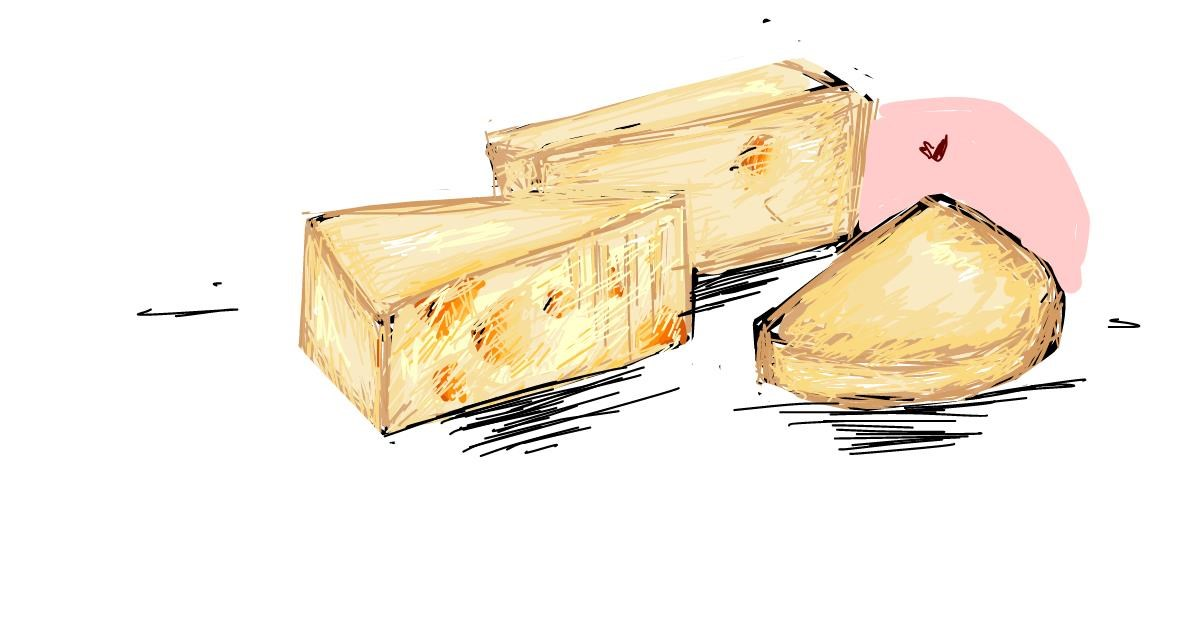 Drawing of Cheese by ARMY