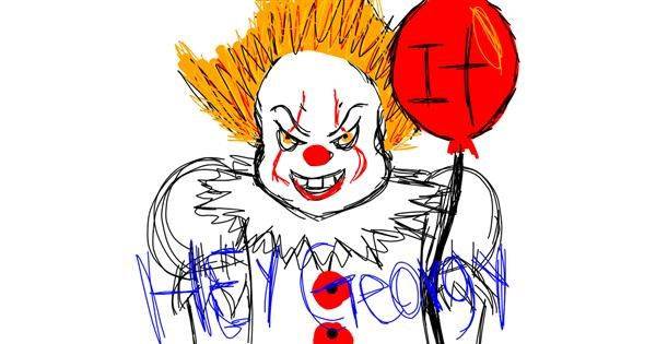 Balloon drawing by That One Llama