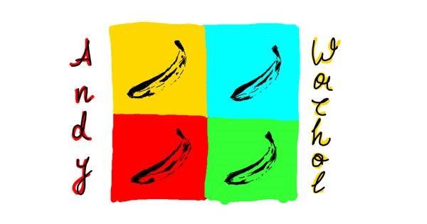 Banana drawing by Kossara