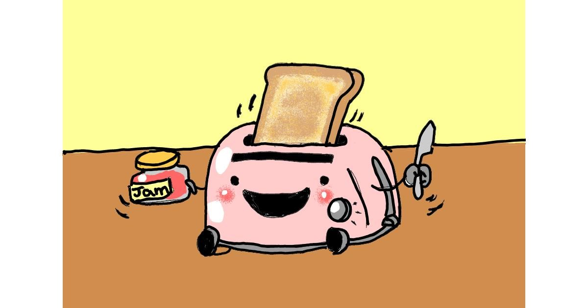 Toaster drawing by ThasMe13