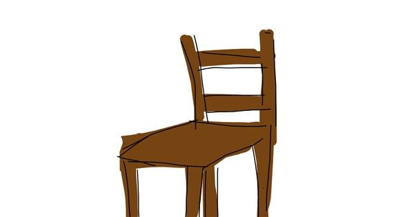 Chair drawing by mengmeng