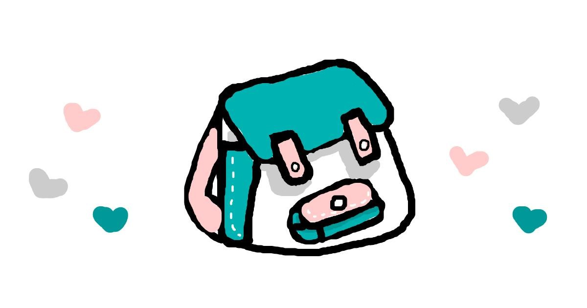 Drawing of Backpack by cutypuky 0w0