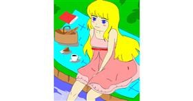 Drawing of Picnic by チョコせんせい