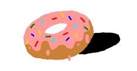 Donut drawing by bob