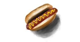 Drawing of Hotdog by NashNash😎