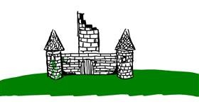 Drawing of Castle by Tuitsusan
