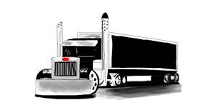 Drawing of Truck by jule