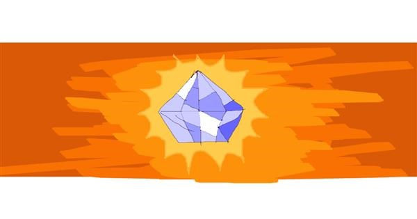 Diamond drawing by Drum