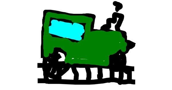 Train drawing by hhhhhhh