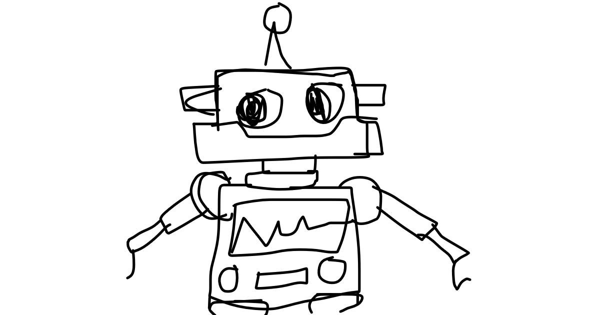 Drawing of Robot by sophie