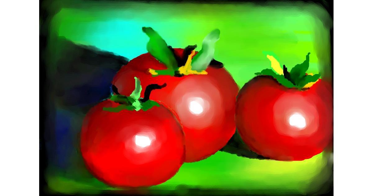 Tomato drawing by 🌏rhythm💐