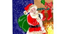 Santa Claus drawing by GJP