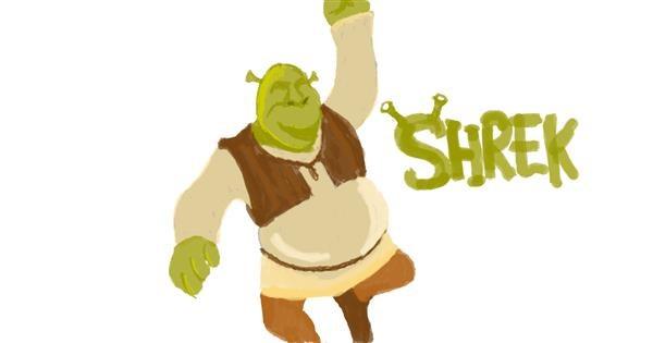Shrek drawing by Mimì