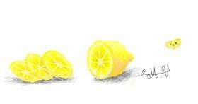 Lemon drawing by Numi