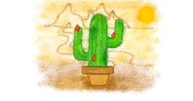 Cactus drawing by Tiny🍒