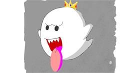 Ghost drawing by MonsterMash