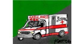 Ambulance drawing by Yeet06