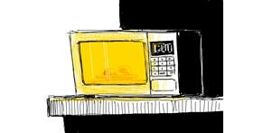 Microwave drawing by Yeeticus