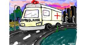 Ambulance drawing by ❀𝓜𝓪𝓻𝓲❀