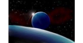 Drawing of Planet by Wizard