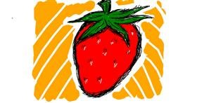 Strawberry drawing by SugaKookies